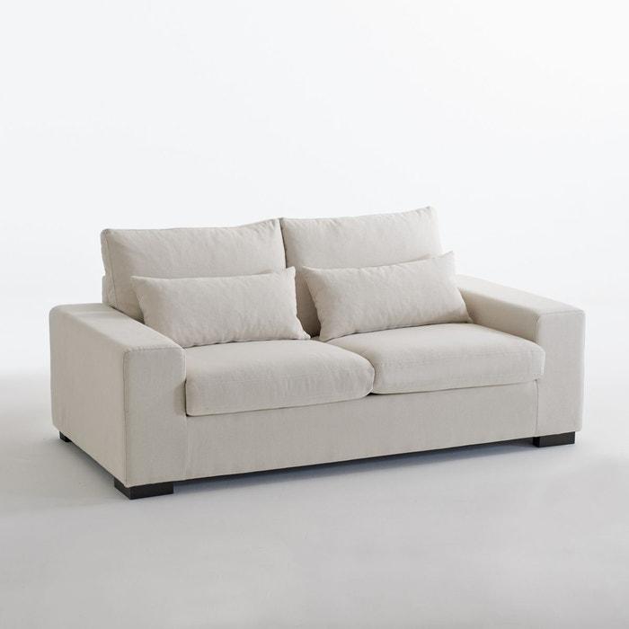 Canapé Convertible Odessa, Coton & Lin La Redoute Interieurs | La