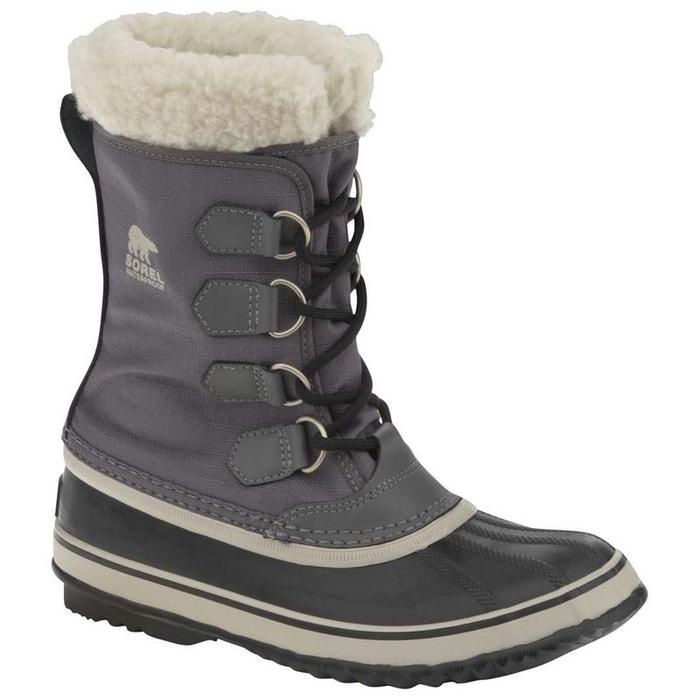Sorel WINTER CARNIVAL Gris - Livraison Gratuite avec  - Chaussures Bottes de neige Femme