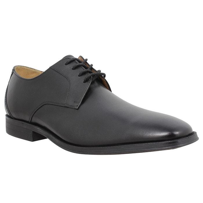 Chaussures à lacets homme clarks gilman lace cuir homme noir noir Clarks