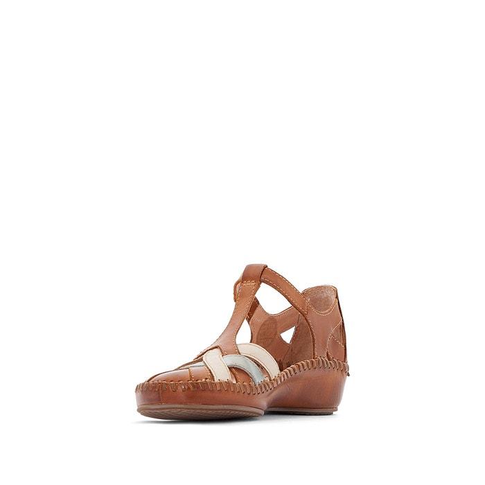 Sandales cuir P. Vallarta 655, Camel