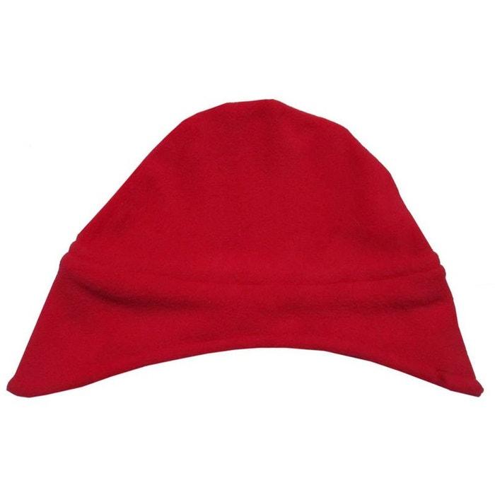Bonnet cache oreilles en polaire 0 mois-24 mois made in france rouge  Poussin Bleu   La Redoute 4f00137f334