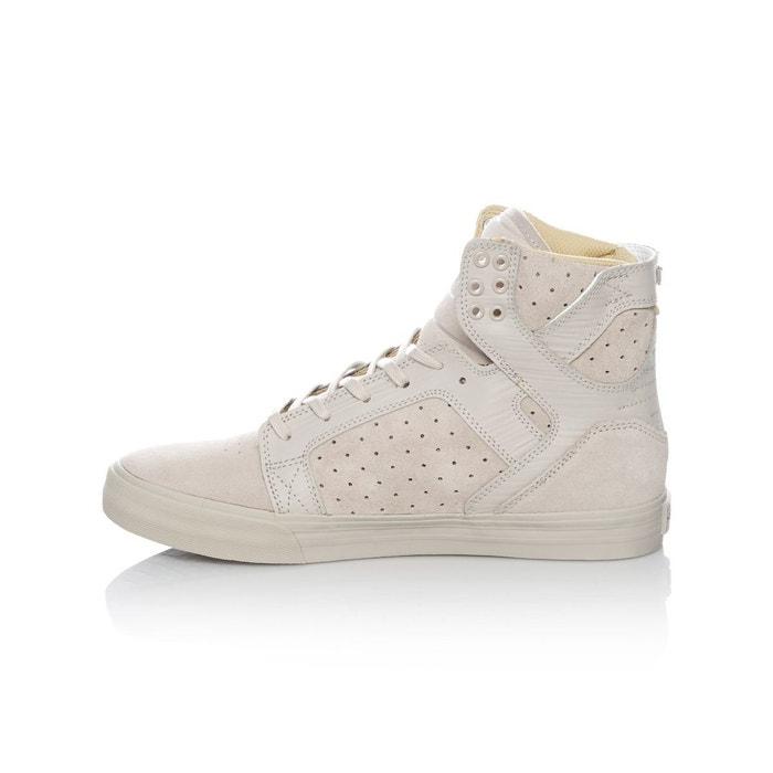 Chaussure skytop gris Supra