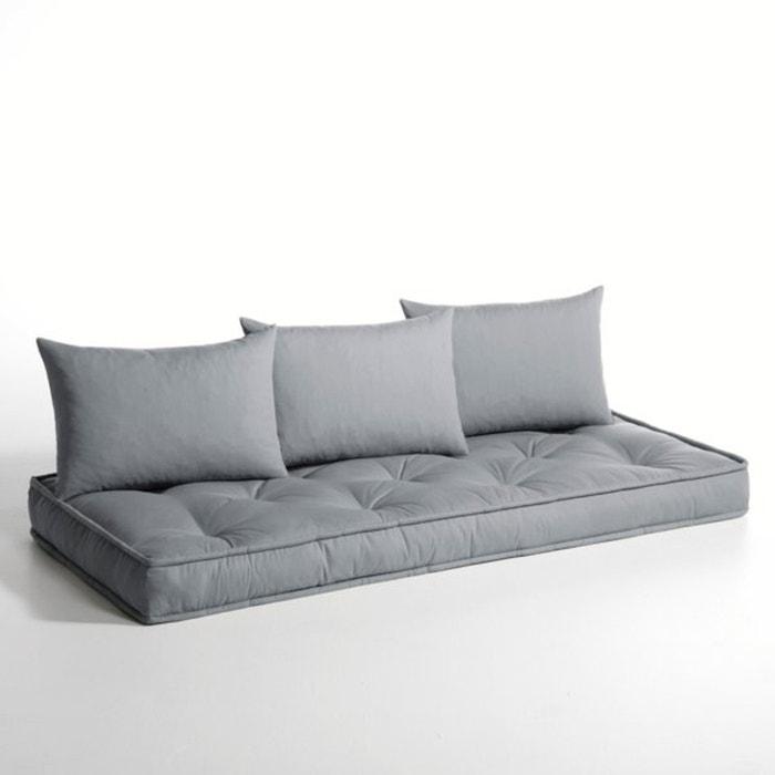 matelas et coussins banquette convertible hiba la redoute interieurs la redoute. Black Bedroom Furniture Sets. Home Design Ideas