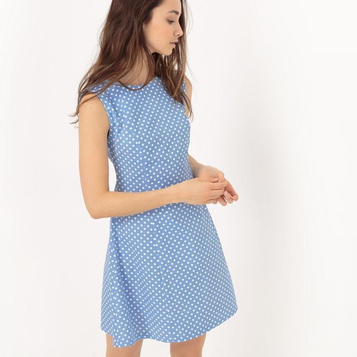 Sleeveless Polka Dot Dress  COMPANIA FANTASTICA image 0