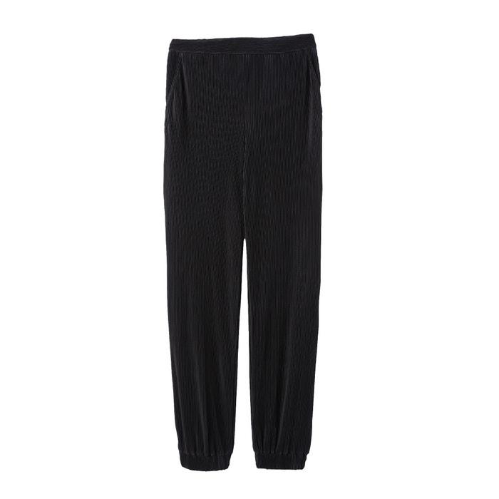 Pantaloni fantasia, plissé, taglio largo  La Redoute Collections image 0