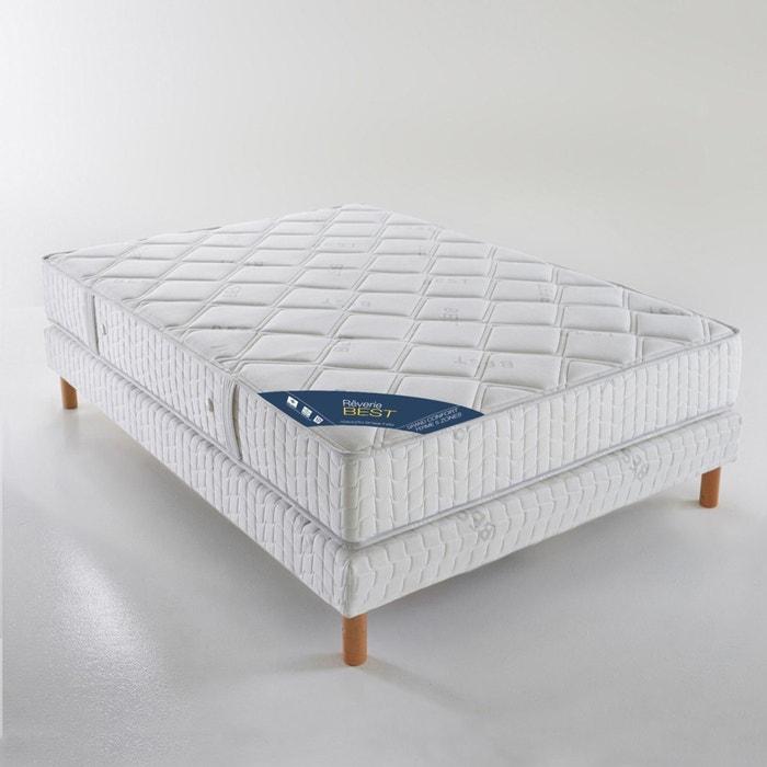 matras met pocketveren groot stevig comfort 5 zones hoogte 24 cm wit reverie best la redoute. Black Bedroom Furniture Sets. Home Design Ideas
