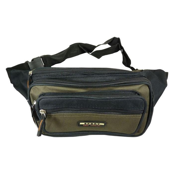 0910b92886 Grande sac sacoche pochette banane nylon (5 poches zippées) Chaussmaro | La  Redoute