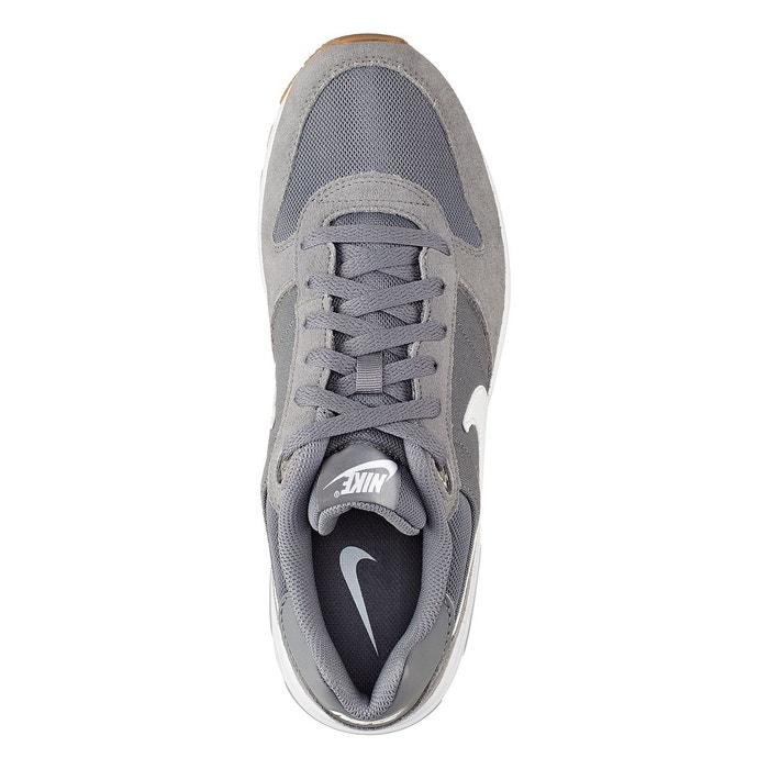 official photos 1ce6f dda67 Baskets basses à lacets, cuir et mesh, nightgazer gris Nike   La Redoute