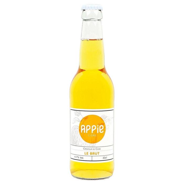 Cidre Brut 12 bouteilles 33cl APPIE CIDRE