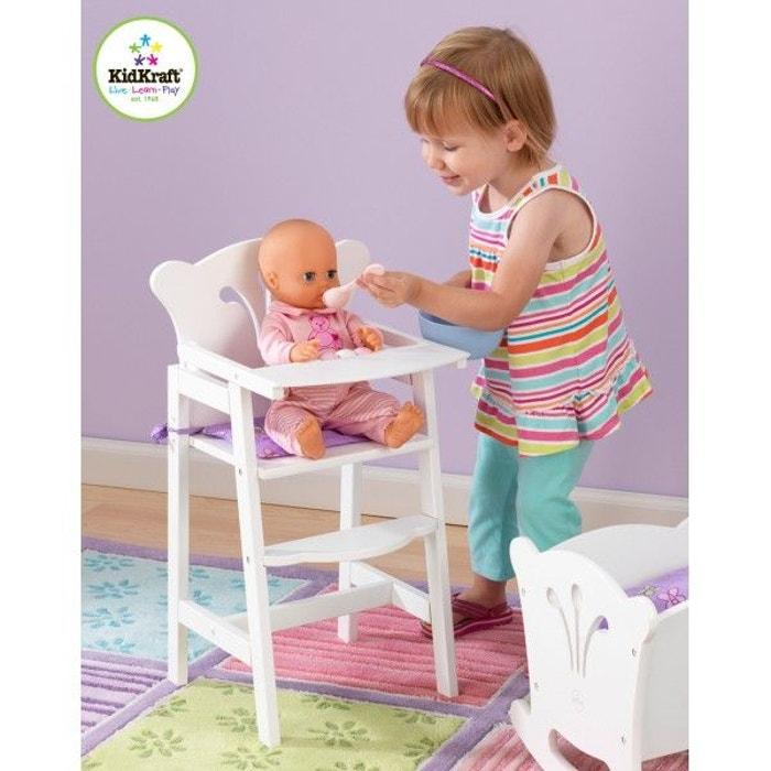 Chaise haute poup e couleur unique decoloopio la redoute for Chaise haute bebe la redoute