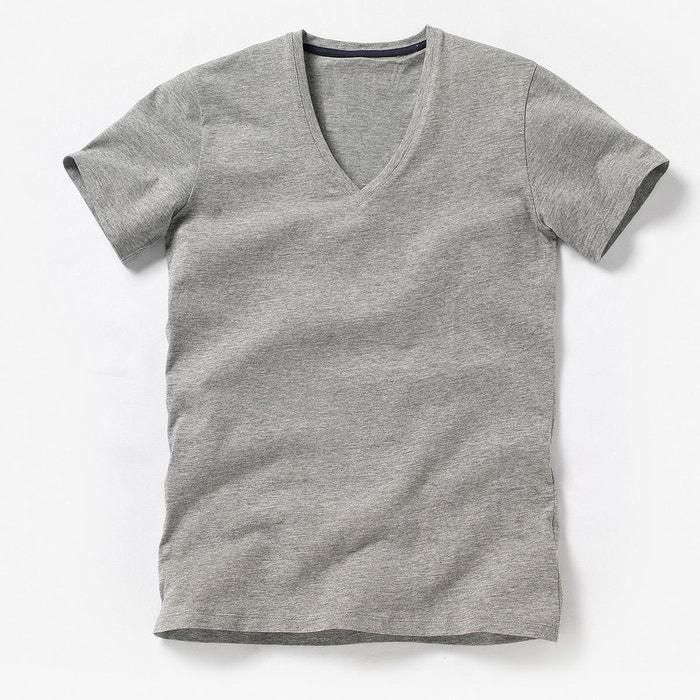 ab1cc25f97e Tee shirt col v profond oeko tex