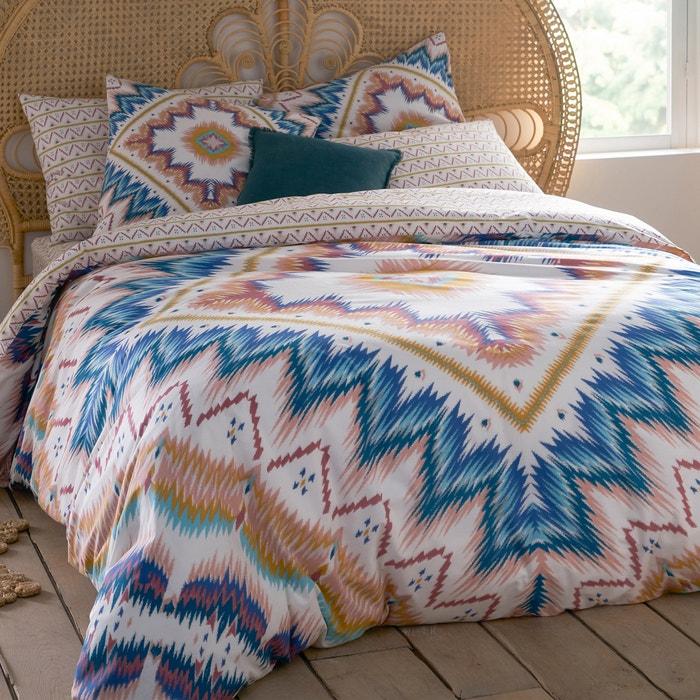 capa de edredon em puro algod o bella vista estampado la. Black Bedroom Furniture Sets. Home Design Ideas