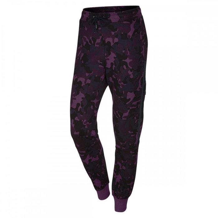 Pantalon de survêtement tech fleece camo violet Nike  fe31bbbac27
