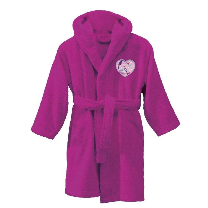 peignoir enfant violet violetta 100 coton violet. Black Bedroom Furniture Sets. Home Design Ideas