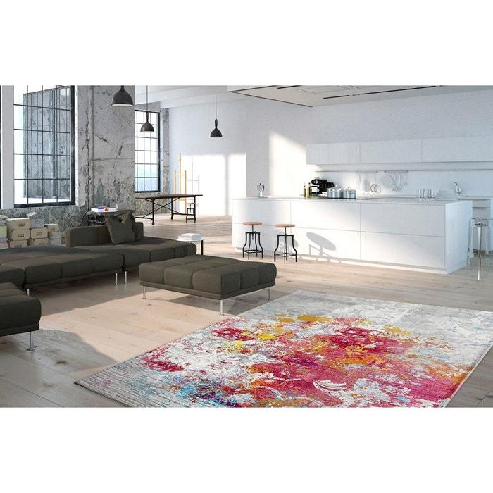 Tapis plat multicolore vintage pour salon mat multicolore deladeco la redoute - La redoute tapis salon ...
