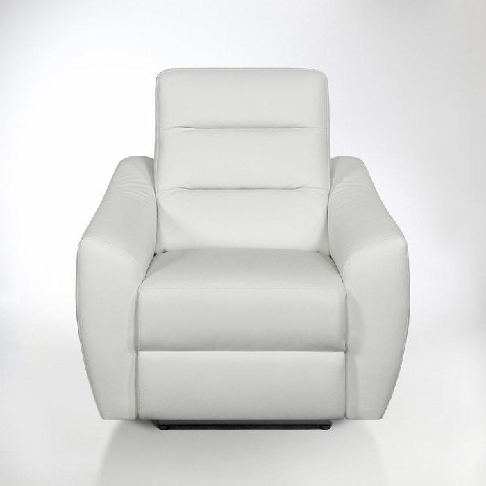 afbeelding Elektrische relax zetel in leer, Gedes La Redoute Interieurs