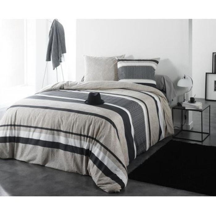 parure de lit frederik lin monteleone le linge la redoute. Black Bedroom Furniture Sets. Home Design Ideas