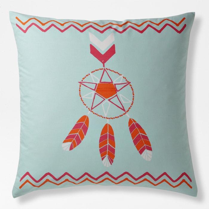 POLAR Square Printed Cotton Single Pillowcase.  La Redoute Interieurs image 0