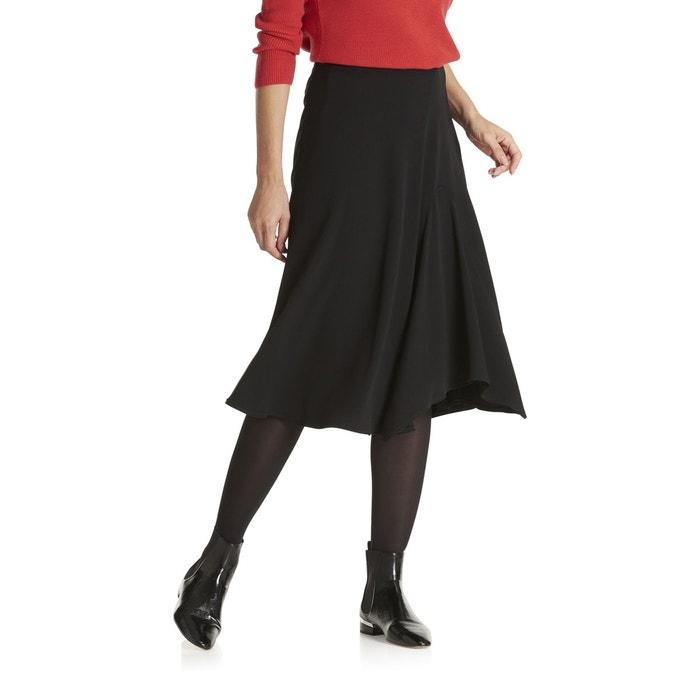 Jupe cloche noir noir Betty Barclay   La Redoute 79676c3158e9
