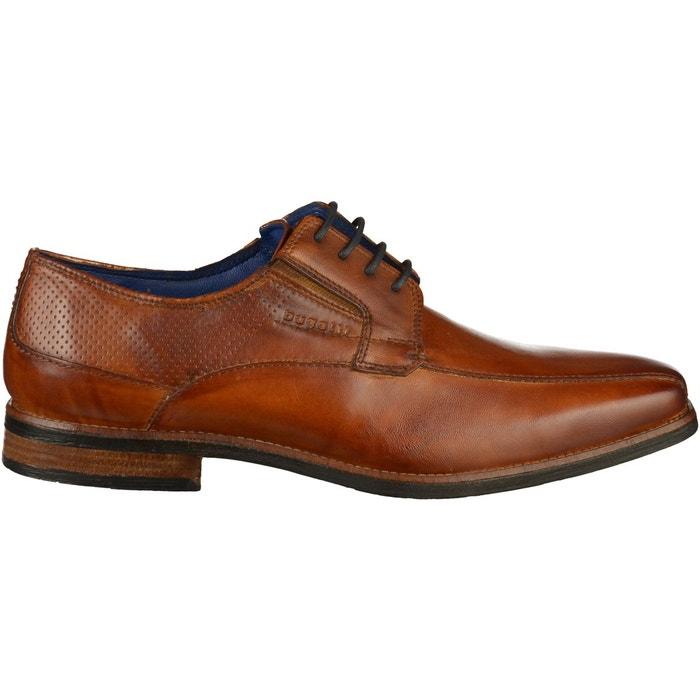 Chaussures basses cognac Bugatti