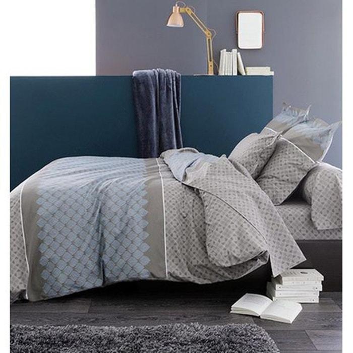 parure de lit talisman gris tradilinge la redoute. Black Bedroom Furniture Sets. Home Design Ideas