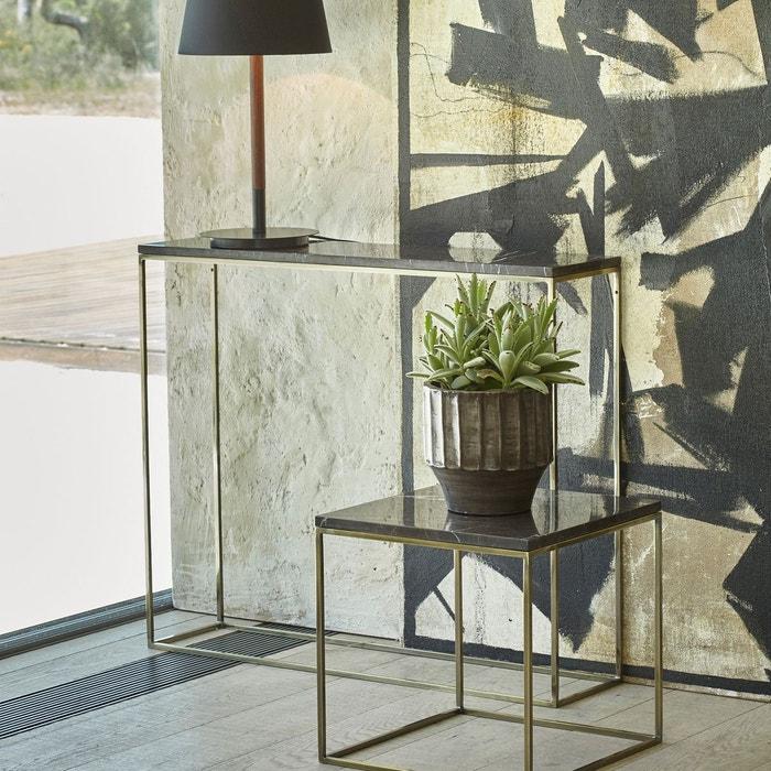 console effet laiton vieilli et marbre mahaut am pm la redoute. Black Bedroom Furniture Sets. Home Design Ideas