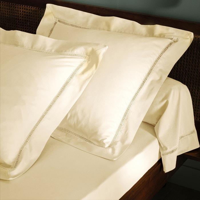 Image Taie d'oreiller ou de traversin, pur satin de coton lavé ,Constance TSF THE SOCIALITE FAMILY
