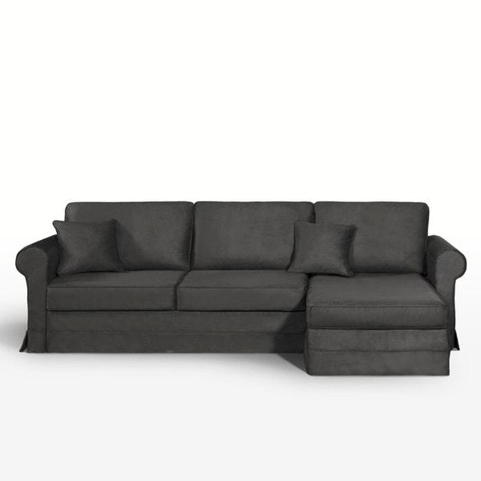 Image Canapé d'angle lit, couchage express, microfibre, Yukata La Redoute Interieurs