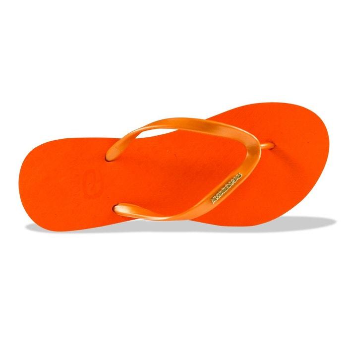 compensées femme AMAZONAS Orange Plat Tongs TqxRwAx5g