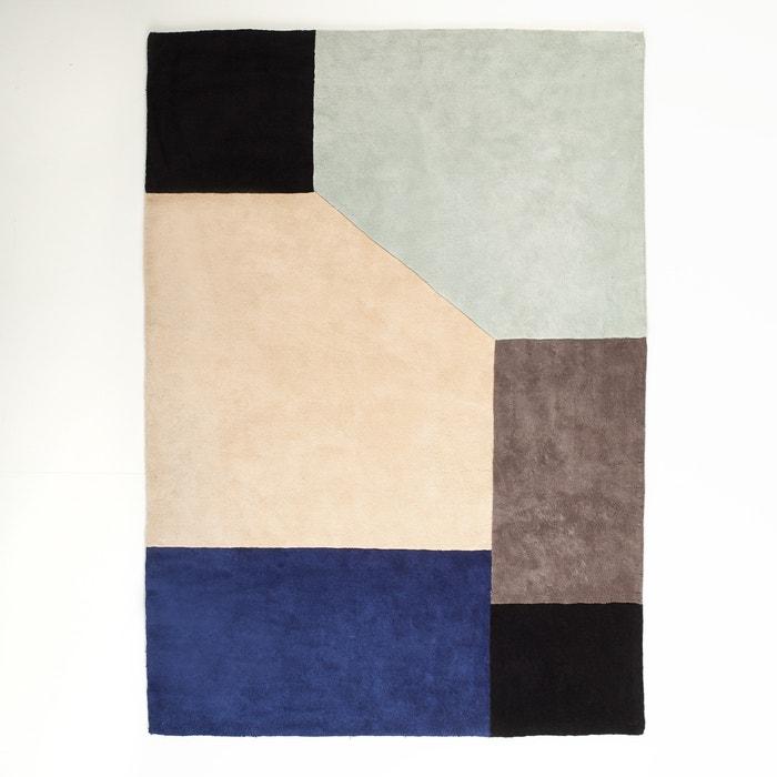 tapis dario coton tuft la redoute interieurs multicolore. Black Bedroom Furniture Sets. Home Design Ideas