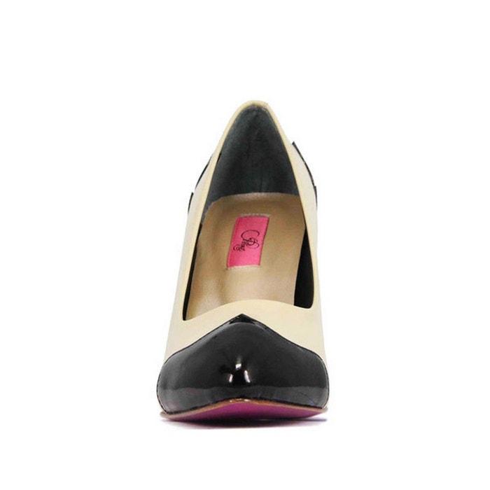 Chaussures femme en cuir lauren bordeaux Pring Paris
