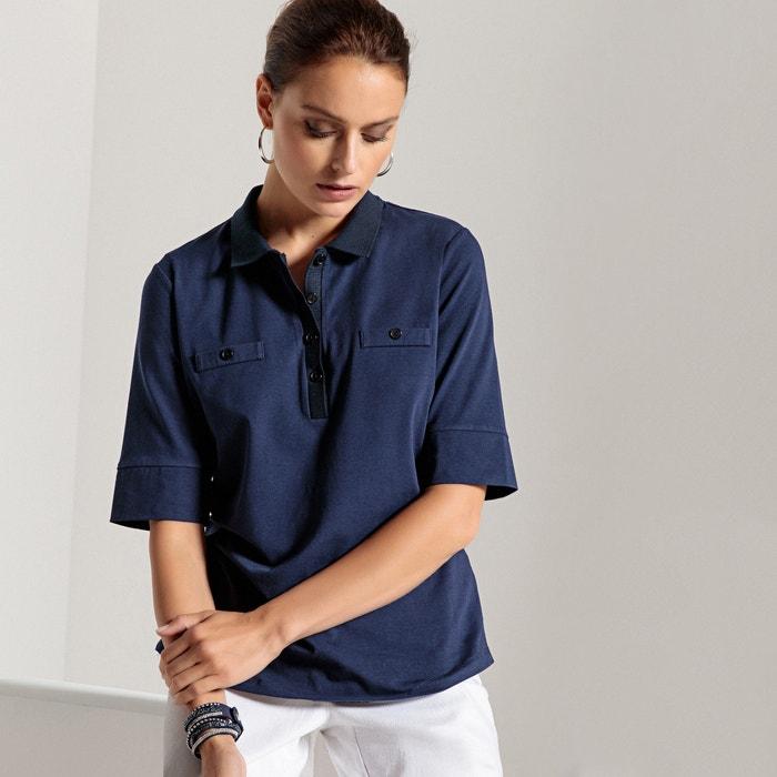 cuello con modal ANNE algod Camiseta WEYBURN y 243;n de polo Z7wxtwS