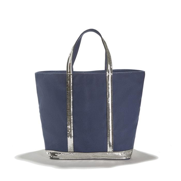 e5fe1be8b314 Сумка-шоппер из ткани с блестками темно-синий Vanessa Bruno | La Redoute