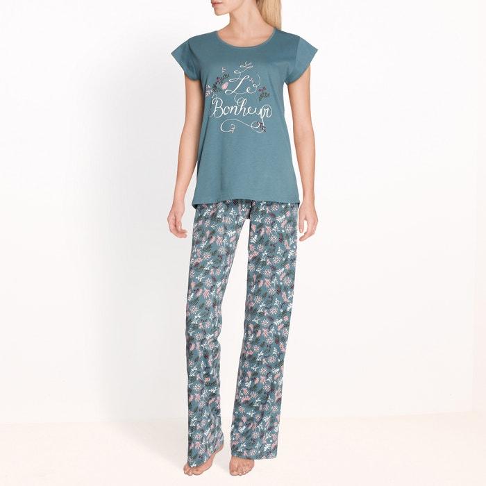 afbeelding Pyjama met bloemenprint La Redoute Collections