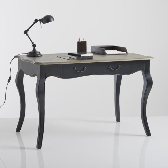 Lipstick Oak Veneer Desk  La Redoute Interieurs image 0