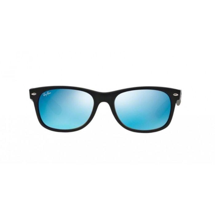9c9400293acfa7 Lunettes de soleil pour homme ray ban noir rb 2132 new wayfarer 622 17  52 18 bleu Ray-Ban   La Redoute