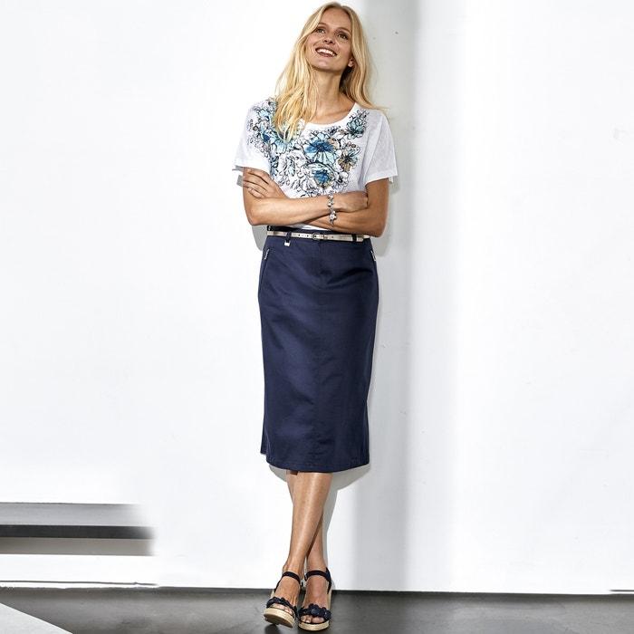 T-Shirt, bedruckt, reine Baumwolle  ANNE WEYBURN image 0