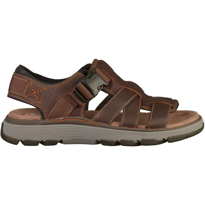 Sandales tan Clarks