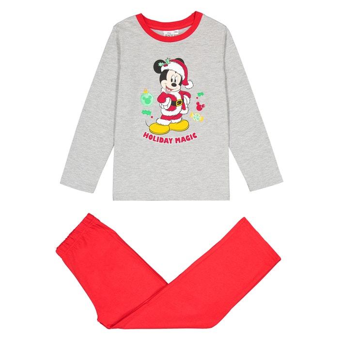 Pyjama de Noël 2 pièces 2 - 6 ans  MICKEY MOUSE image 0