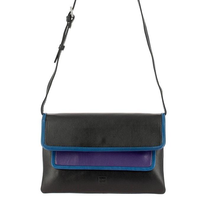 Sac à bandoulière pour femme multicolore en cuir nappa avec rabat forme rectangulaire coloré Dudu | La Redoute Des Emplacements De Sortie De Dégagement WgIxyv