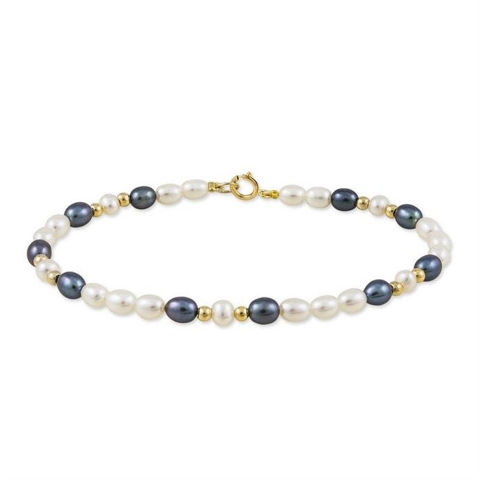Bracelet or perle de culture jaune Histoire D'or   La Redoute Acheter Pas Cher Prix Incroyable IWgaGAnqJ