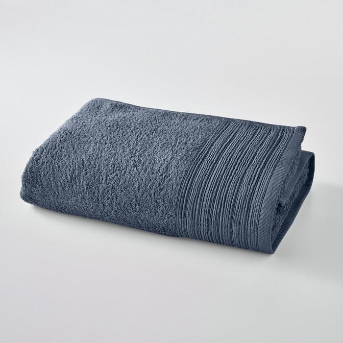 Image Maxi drap de bain uni éponge coton bio SCENARIO