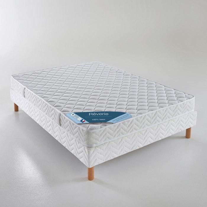 afbeelding Matras in latex, stevig comfort, 3 zones REVERIE