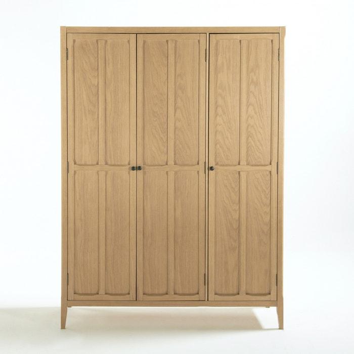 eug nie 3 door wardrobe la redoute interieurs la redoute. Black Bedroom Furniture Sets. Home Design Ideas