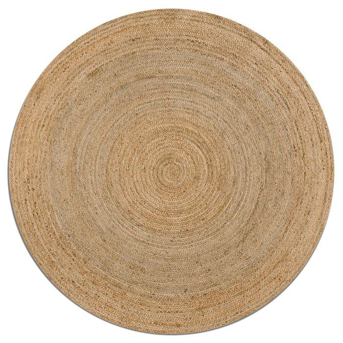 afbeelding Rond tapijt Hempy in jute Hempy, Ø160 cm AM.PM.