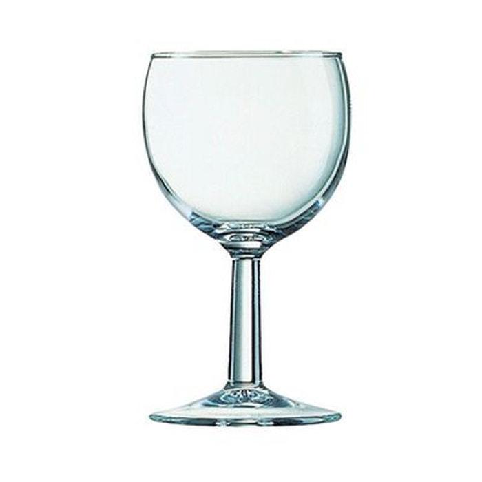 verre vin 19 cl ballon vendu par 3 transparent luminarc la redoute. Black Bedroom Furniture Sets. Home Design Ideas