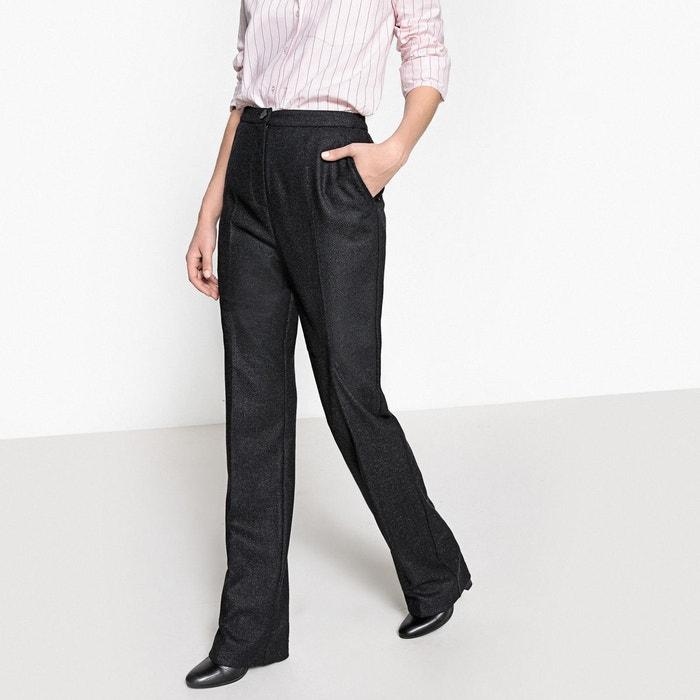 3a003ca6b493 La Droit Gris En Redoute Collections Pantalon Tweed I41Udx