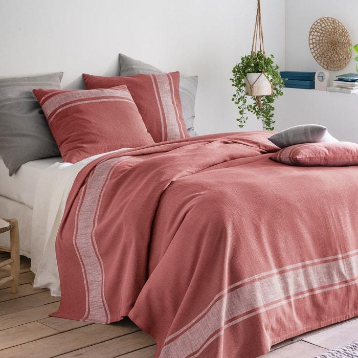 Dessus de lit tissé teint zira La Redoute Interieurs | La Redoute