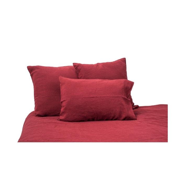 taie de traversin lin harmony harmony la redoute. Black Bedroom Furniture Sets. Home Design Ideas