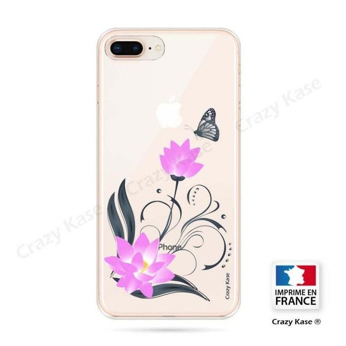 coque iphone 8 motif fleur